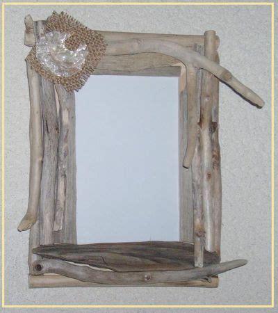 cadre photo les cr 233 ations en bois flott 233 et tissu de miss soleil