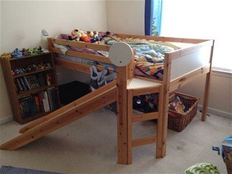 ikea loft bed    kids  love