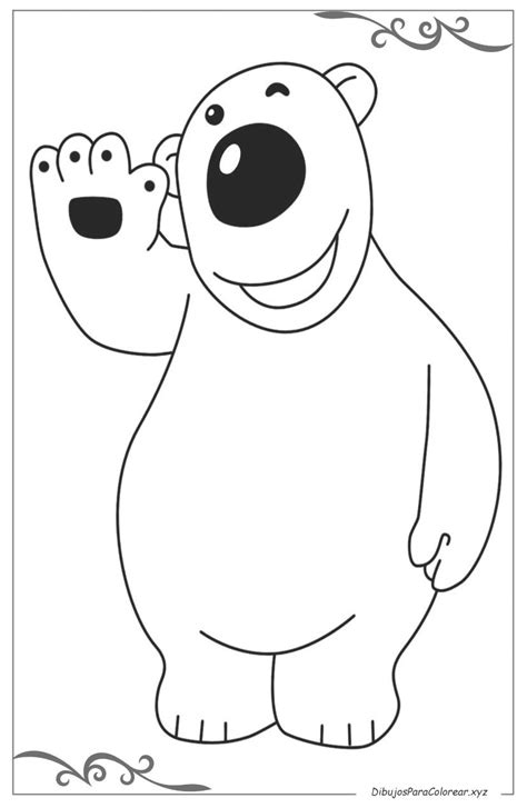 Pororo el pequeño pingüino dibujos para colorear
