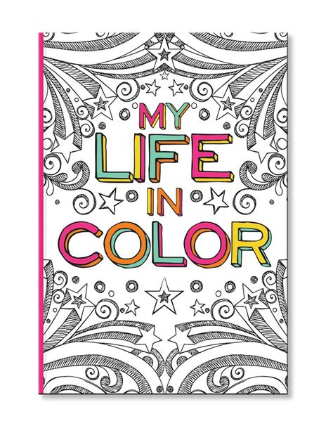 C R Gibson Color Me Journal Coloring journal Adult
