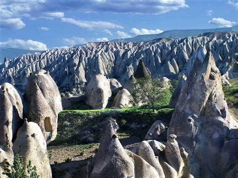 rocky goreme valley turkey world  travel