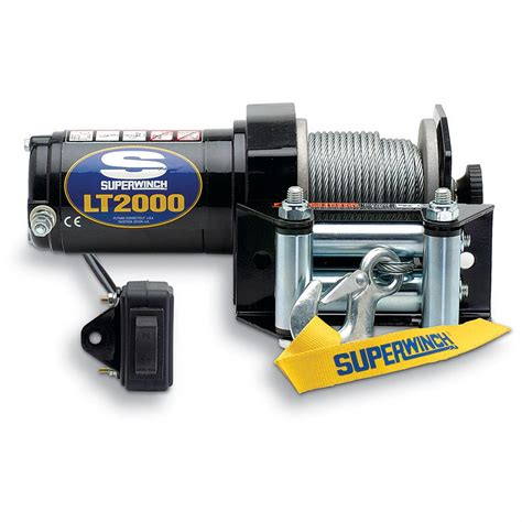 superwinch 174 lt2000 12v atv winch with accessories 422953 winches mounts at sportsman s guide