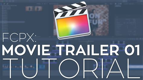 Fcpx Trailer Templates by Rant Trailer 01 Fcpx Library Template Tutorial