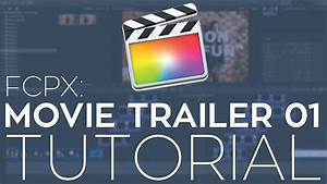 rampant movie trailer 01 fcpx library template tutorial With fcpx trailer templates