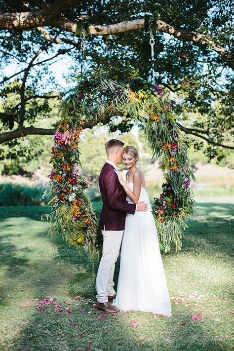 Vibrant Summer Garden Wedding Inspiration