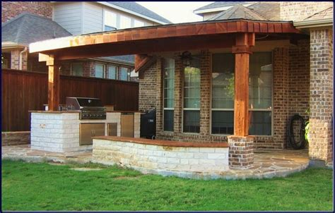 exterior cool modern patio cover decor advice for your