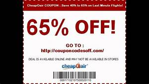 Cheapoair Promo Code November 2013 - Save 40  To 65