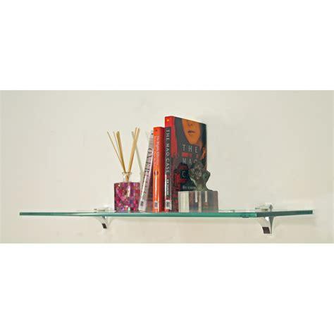 Glass Floating Shelf  10 Inch Deep In Wall Mounted Shelves