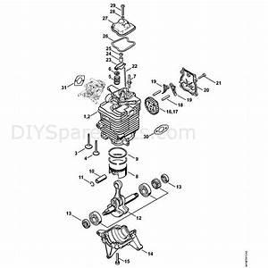 Stihl Br 700 Backpack Blower  Br 700  Parts Diagram  S Engine