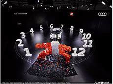 """""""The extra hour"""" installation by Audi and the LEGO® Group"""