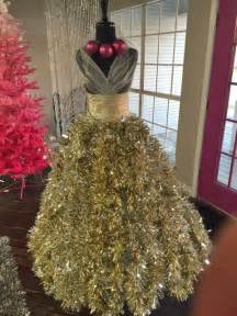 Sams Club Christmas Trees by She Attaches Tree Branches To The Old Dress Form What It
