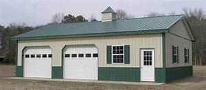 pole barn garage amish shed amish garage kits pole barn With amish pole barn builders indiana