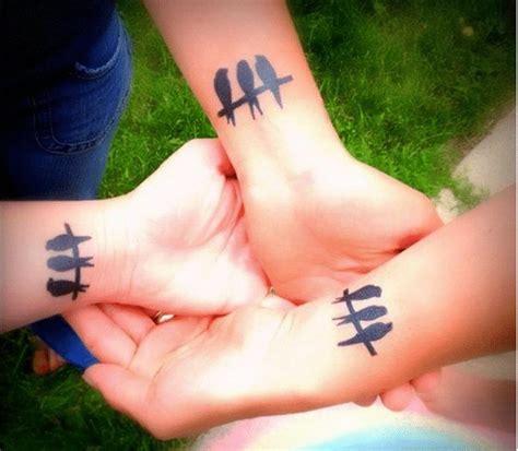 friend tattoos  super cute designs  bffs