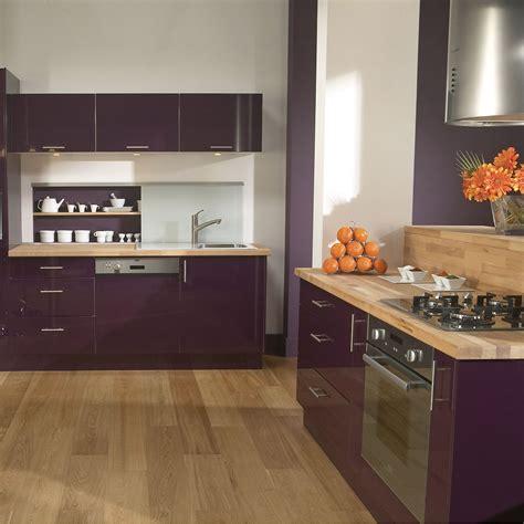 cuisine blanc et violet cuisine violette pas cher sur cuisine lareduc com