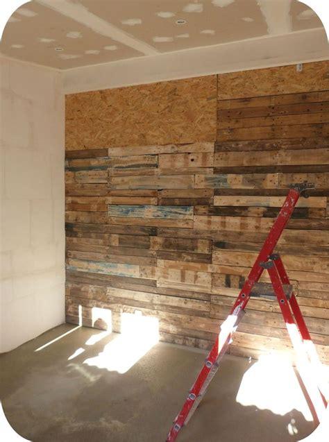 cabane dans une chambre les 10 meilleures idées de la catégorie murs en bois sur