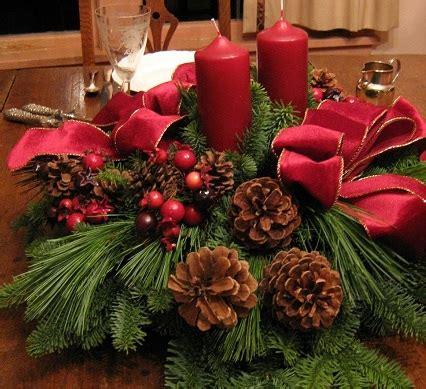 decoracao de natal  plantas  flores decorando casas