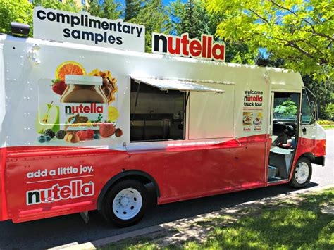 add   joy   summer  nutella truck