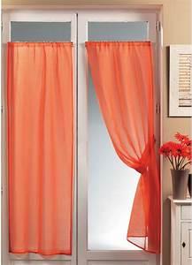 Rideaux à Poser Sur Fenêtres : voilage de fenetre avec passe tringle ~ Premium-room.com Idées de Décoration