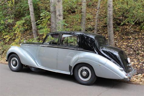 1953 Bentley R Type Standard Steel Saloon