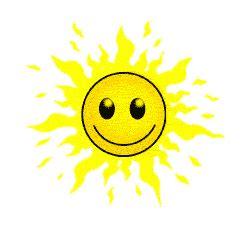 matahari surya gif gambar animasi animasi bergerak