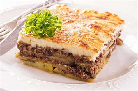 moussaka recipe traditional greek moussaka  eggplants