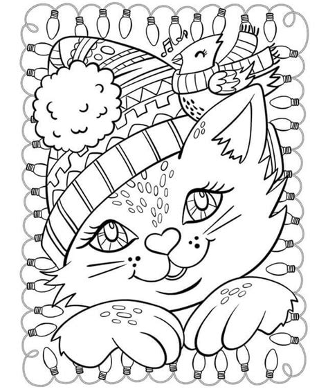 Winter Free Coloring Pages Free Printable Winter Coloring Pages