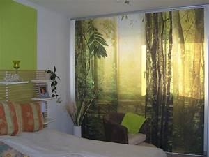 Bilder Für Das Schlafzimmer : foto schiebegardinen f r das schlafzimmer ~ Michelbontemps.com Haus und Dekorationen