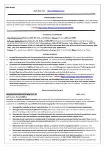 information security officer resume sle information security officer resume blum copy