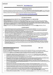 Information security officer internet resume leon blum copy for Information security resume