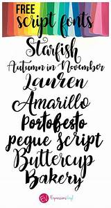 beautiful free script font roundups from fonts cricut With vinyl calligraphy letters