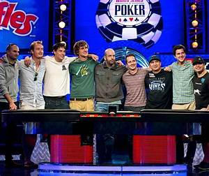 World Series of Poker Main Event Final Table Down to Final ...