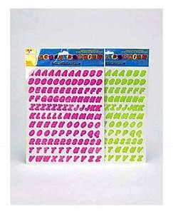 eosk cc906 cursive color letter stickers assorted colors With colored letter stickers