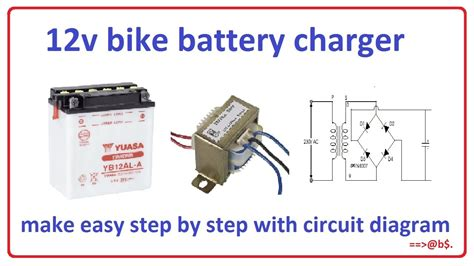 bike battery charger easy step  step