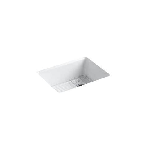 Kohler Riverby Undermount Sink 25 by Kohler Riverby Undermount Cast Iron 25 In 5 Single