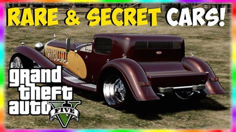 2 Rare & Secret Cars In Gta 5!