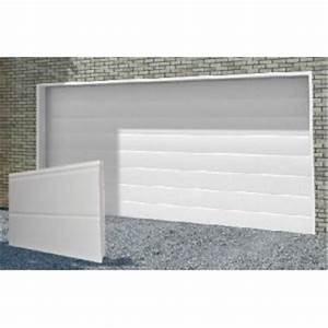 porte de garage sectionnelle 2500x2100 a prix discount With promo porte de garage