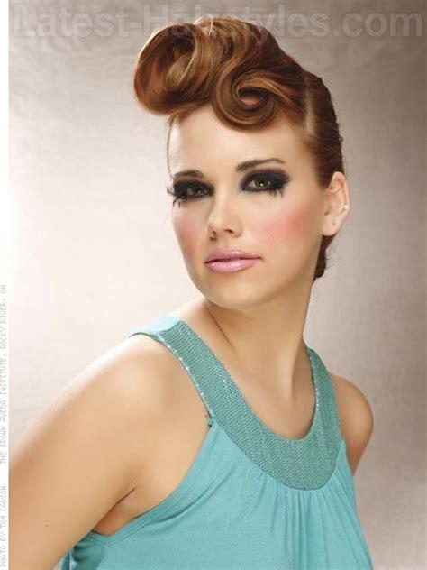 easy vintage hairstyles for medium hair