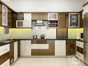 Red optima plywood kerala home interior design home for Interior design for kitchen in kerala