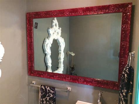 diy backsplash kitchen tv mirror with frame builders glass of bonita inc 3389
