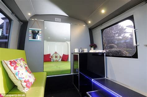 Caravan park transforms grounded helicopter into holiday