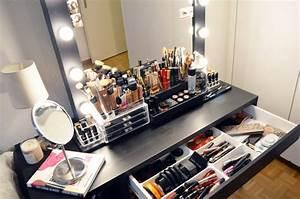 Meuble Maquillage Ikea : ikea miroir ampoules mercredie ~ Teatrodelosmanantiales.com Idées de Décoration