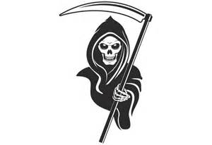 flowers for sale grim reaper wall decal