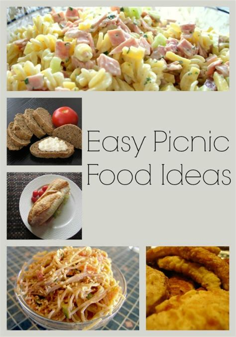 great picnic food easy picnic food ideas to enjoy in the great outdoors easy picnic food ideas picnic foods and