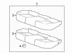 2015 Chevrolet Impala Seat Cushion Foam  Lower   Seat