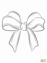 Bow Coloring Hair Printable Tie Pages Colouring Getcolorings sketch template