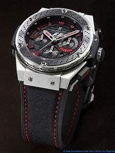Montre Hublot Geneve : la cote des montres shooting de la montre hublot f1 king power la montre officielle de la ~ Nature-et-papiers.com Idées de Décoration