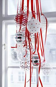 Decoration De Noel Pour Fenetre A Faire Soi Meme : d coration de no l rouge et blanc faire soi m me ~ Melissatoandfro.com Idées de Décoration