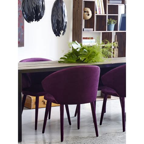 stewart dining chair purple products moes
