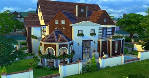 sims  houses modern house plan modern house plan