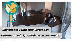 Vinylboden Auf Fliesen : vinylboden auf fliesen verlegen youtube ~ Watch28wear.com Haus und Dekorationen